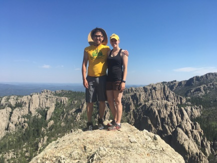 Tab and Ton on Lil' Devil's Tower