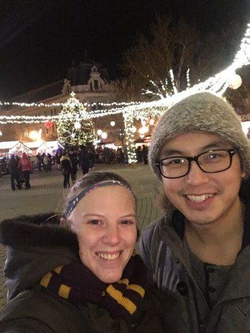 Tabby and Tony Nyíregyháza Christmas Market